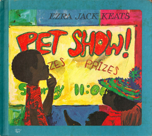 Ezra Jack Keats book cover for 'Pet Show'.