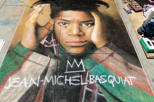 'Jean-Michel Basquiat' © 2013, Scrubhiker (USCdyer). Used under Creative Commons License