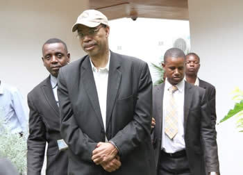 Former Congressman Mel Reynolds was arrested in Zimbabwe for possession of pornography which is illegal in the country.  (Photo Credit: Google Images)