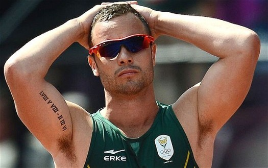 Paraolympian star Oscar Pistorius who awaits trial for the murder of his girlfriend, penned a Valentine's Day post on the anniversary of the murder.  (Photo Credit: Google Images)