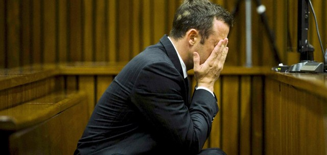 Accused murderer and Olympic champion Oscar Pistorius.  (Photo Credit: Google Images)