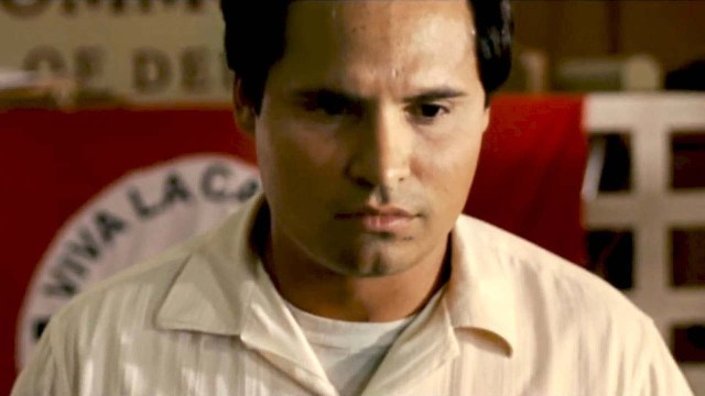 Michael Peña stars as iconic civil rights leader and labor organizer Cesar Chavez.  (Photo Credit: Google Images)