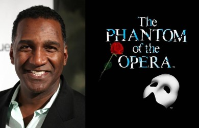 Tony award-winning performer Norm Lewis makes history as Broadway's first African-American Phantom.  (Photo Credit: Google Images)