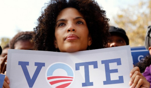 Promoting voting among minority groups. ( Photo credit: Google Images.)