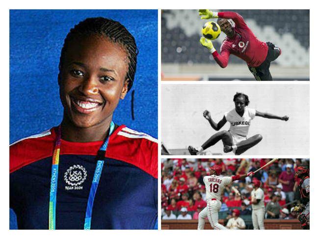 Jamaican born Olympic Fencer Kamara Barnes, South African soccer captain Senzo Meyiwa, America Olympic track and field legend Alice Coachman and Dominican baseball player Oscar Taveras died in 2014.