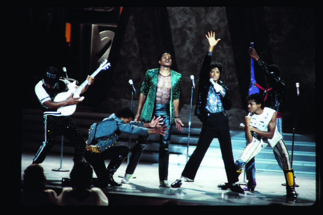 The Jacksons reunite and perform a medley on 'Motown 25' (Photo Credit: West Grand Media)