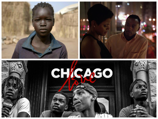 ATLFF 2015 featured diverse films including Madina's Dream (top left), Somewhere in Between (top right) and Chicago Love. (Photos: ATLFF 2015)