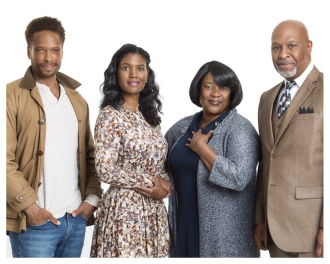 The cast of TV One's Mother's Day film 'For the Love of Ruth.' (Photo Credit: TV One)