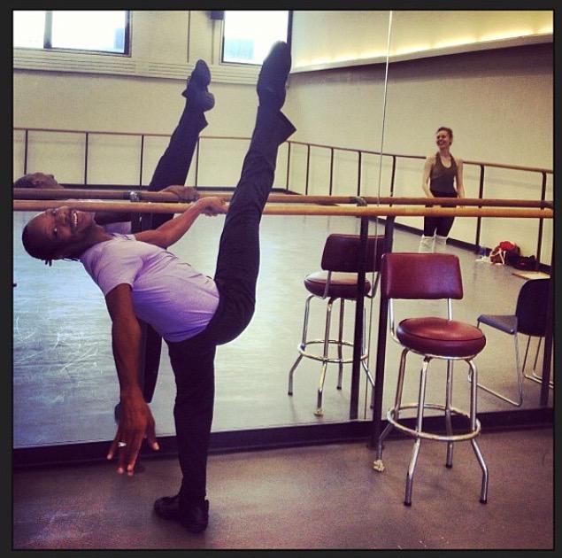 Ballet star Albert Evans has died.  (Photo: Justin Peck/Instagram)