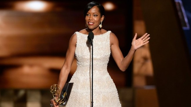 Regina King wins a 2015 Emmy for Best Supporting Actress in a Limited Series or a Movie. (Photo: Google Images)