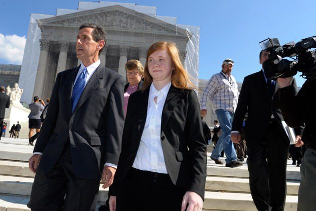 Abigail Fisher claims she was denied admission to her parent's alma mater because of race. (Google Images)