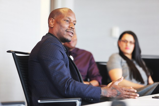 Multi-talented Grammy-nominated entertainer Tyrese Gibson is the celebrity ambassador for Coca-Cola's Pay It Forward program (Photo Credit: The Coca-Cola Company).
