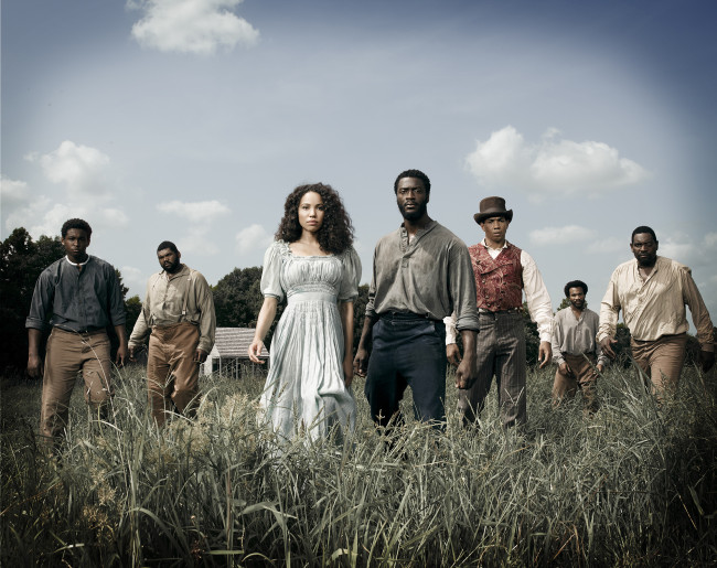 The cast of WGN's highly anticipated show 'Underground.' (Photo: WGN America)