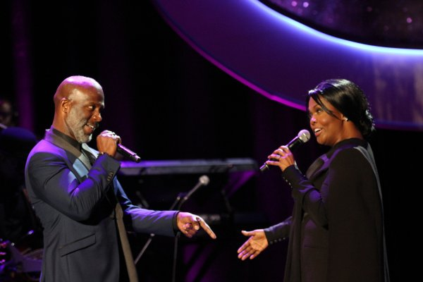 Best-selling sibling gospel duo BeBe and CeCe Winans are the subjects of the musical, 'Born For This: The BeBe Winans Story,' premiering at Alliance Theatre in Atlanta (Photo Credit: A. Turner Archives/BMI).