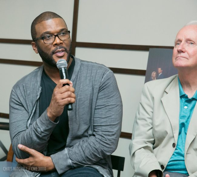 Filmmaker, playwright and actor Tyler Perry comments on TLC's first original scripted drama, 'Too Close to Home.'