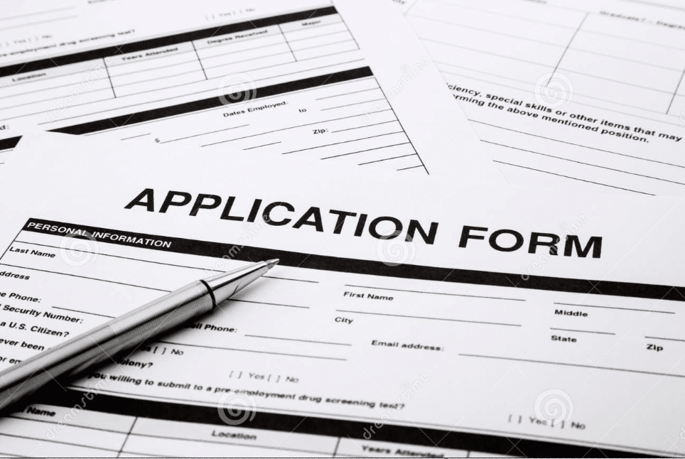 what is job application type of employment applications