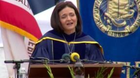 Sheryl Sandberg Commencement Speech, UC at Berkeley, May 2016 [ Full Transcript]