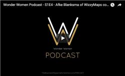 Wonder Women Podcast S1E4 – Afke Blanksma of Wizzymaps.com