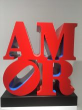 Robert Indiana - AMOR, Red Blue, 1998