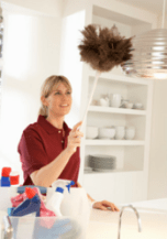 cleaning advice for holiday home owners