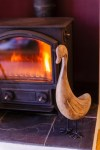 log fires help to get more bookings in low season