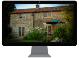 holiday home website exterior