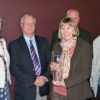 Susan receives award on behalf of the East Dorset CAP team based in Ferndown