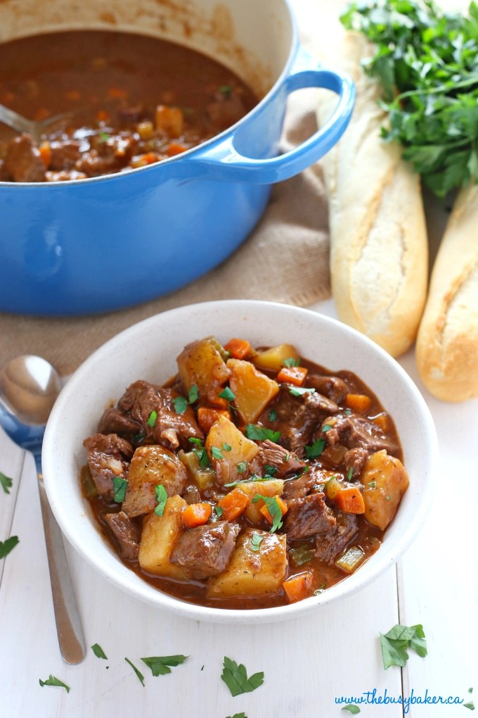 This Best Ever One Pot Beef Stew is an easy, classic beef ...