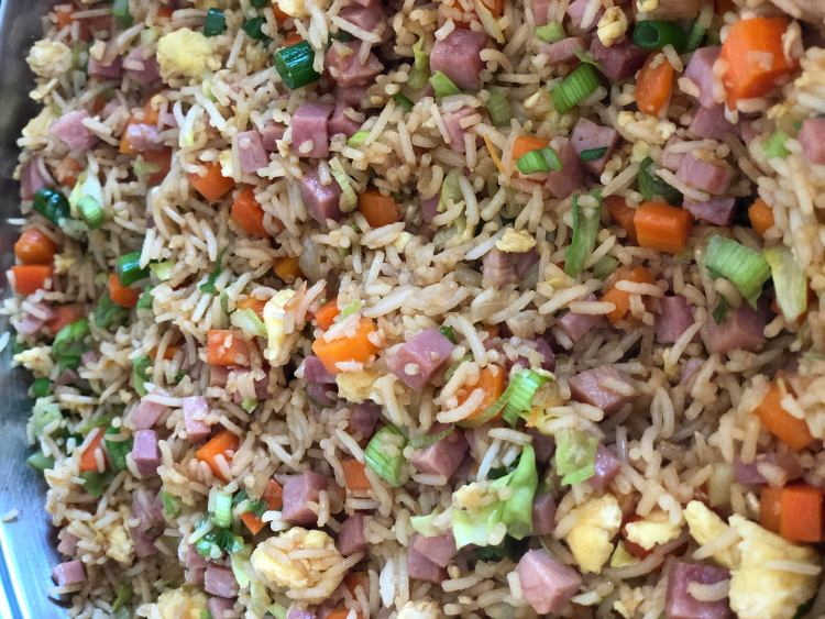 Ham Fried Rice | The Butcher's Wife
