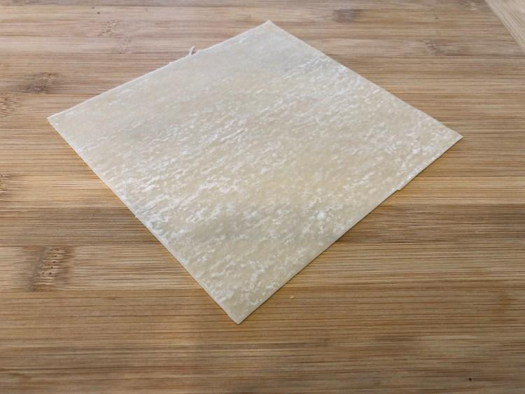 egg roll wrapper for Chicken egg rolls