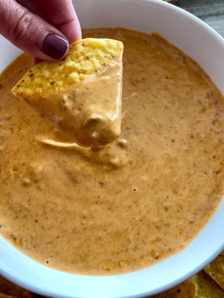 Copycat Chili's Queso