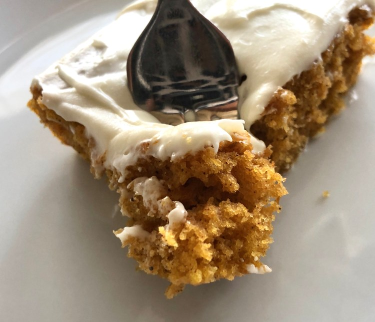 Mom's Pumpkin Bars