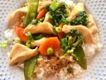 Easy Chicken Stir Fry is full of Asian flavors and fresh veggies.