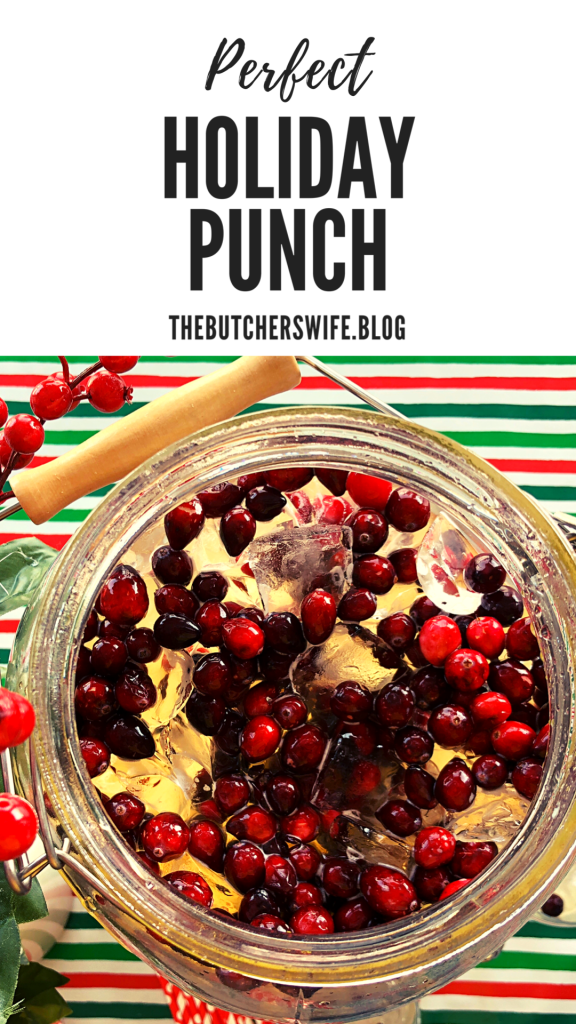 Perfect Holiday Punch