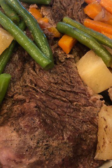 Simple Slow Cooker Pot Roast - comfort food