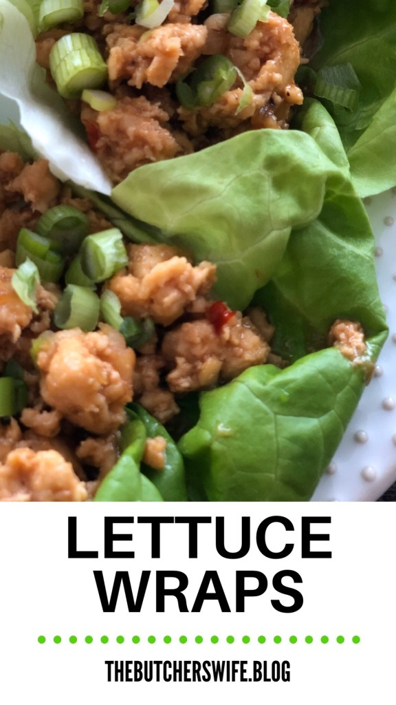 Lettuce Wraps | The Butcher's Wife