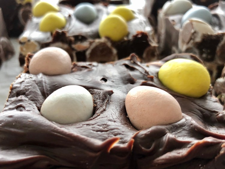 Easter Fudge - easy to make, sweet and delicious