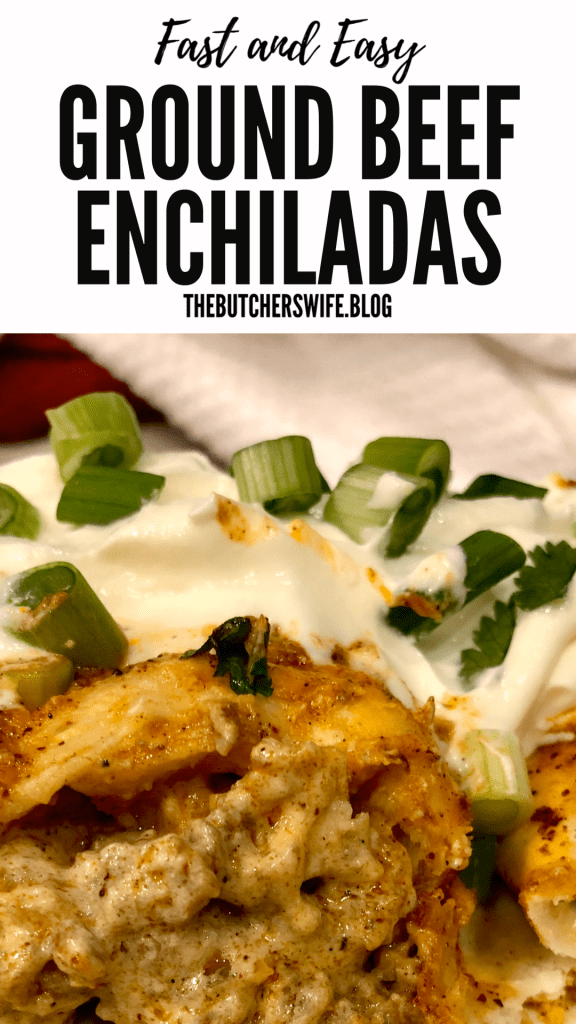 THE BEST RECIPE! EASY RECIPE! Fast and Easy Ground Beef Enchiladas