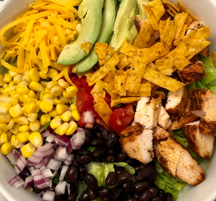 Tex-Mex BBQ Chicken Salad - The best salad you will ever eat!