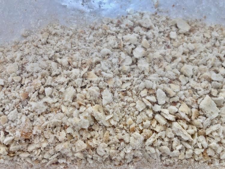crushed saltine crackers