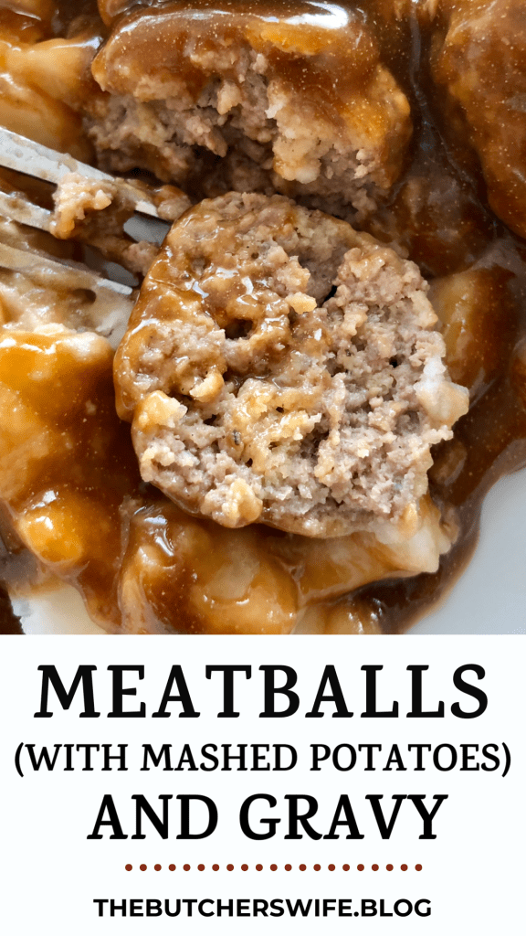 Meatballs (and Mashed Potatoes)