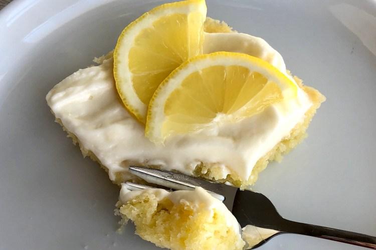 Lemon Sheet Cake   The Butcher's Wife