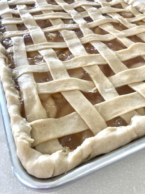 Sheet Pan Apple Pie | The Butcher's Wife