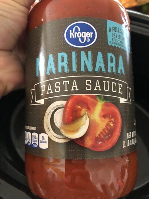 Marinara sauce for Slow Cooker Two-Sauce Pasta