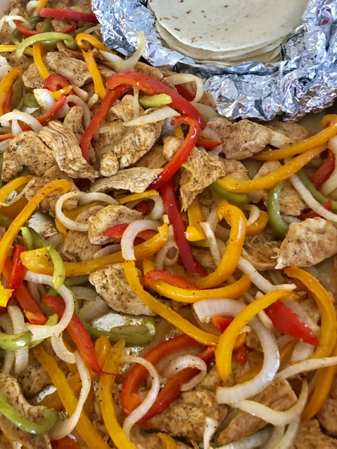 Sheet Pan Chicken Fajitas | The Butcher's Wife