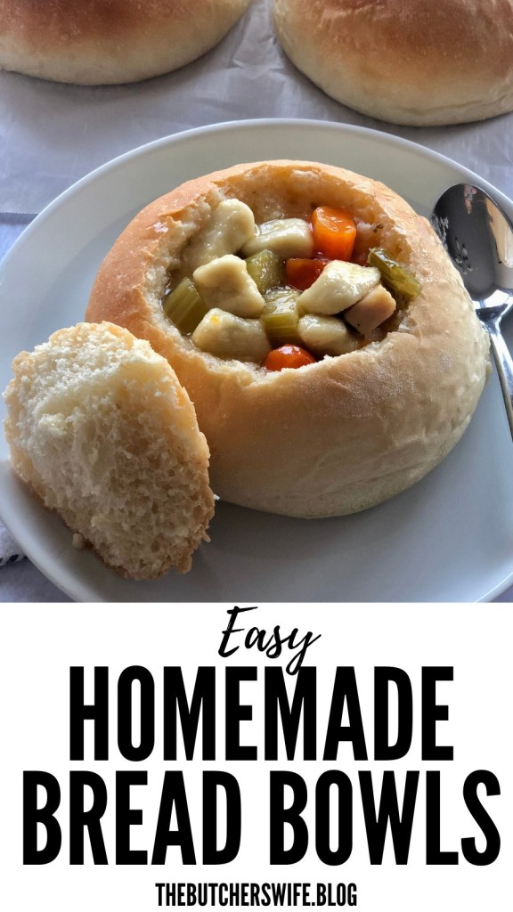 Easy Homemade Bread Bowls | The Butcher's Wife