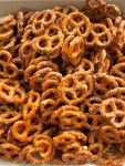 pile of buttery ranch pretzels