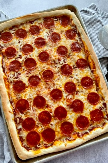 Sheet Pan Pizza   The Butcher's WIfe