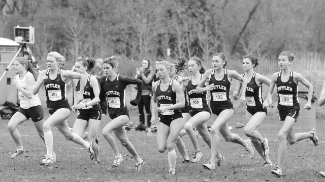 Butler women's cross-country finished third at nationals last season. Collegian file photo