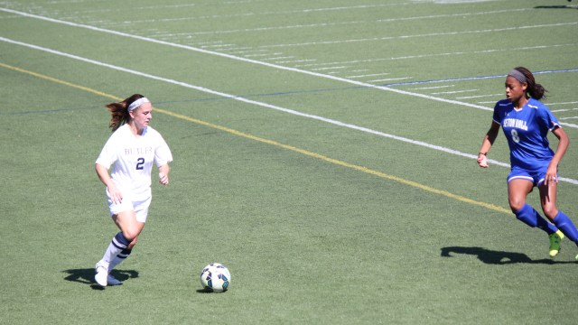 The women's soccer team finished the season 9-8-2. Collegian file photo